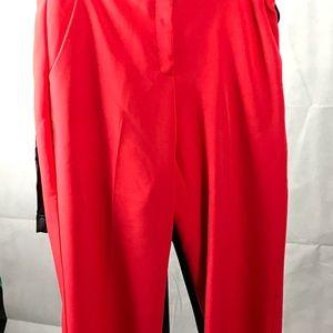 Fun, wide leg, cropped dress pants